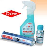 prodotti incollaggio vetro Dow