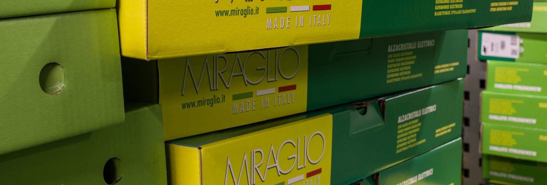 Distributore ufficiale Miraglio